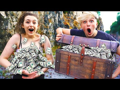 I Went Exploring & Found $100,000 in Abandoned Treasure Chest Treasure Hunt Challenge