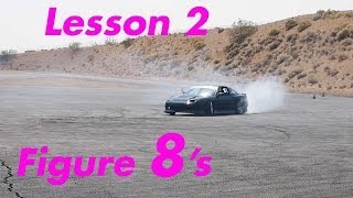 Edye Learns to Do Figure 8's - Edye Learning to Drift EP 1 Part 3