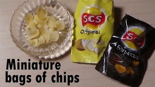 Miniature Bag Of Chips (Lay