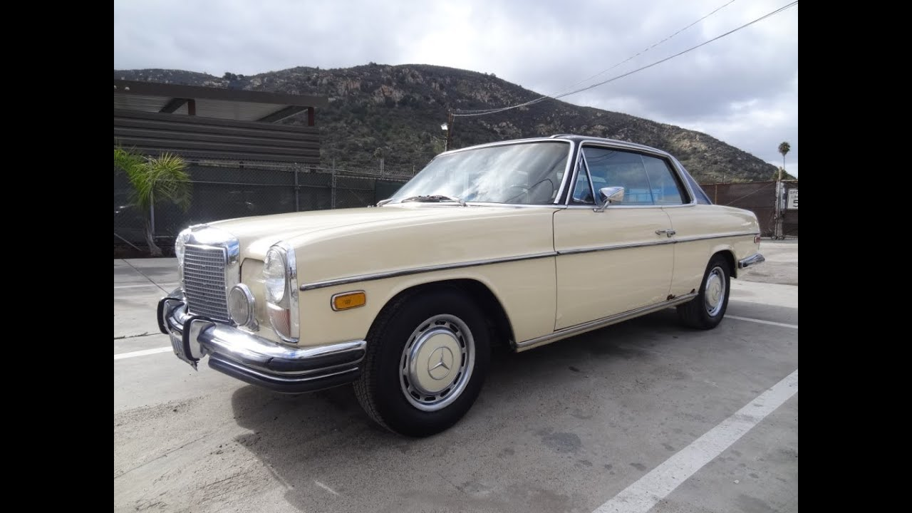 Mercedes Benz 250c W114 Coupe Classic Youngtimer Review Video Youtube