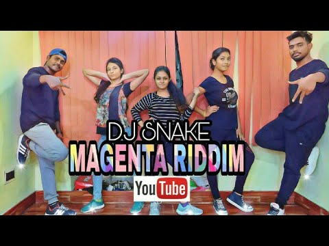 MAGENTA RIDDIM || DJ SNAKE || DANCE  || CHOREOGRAPHY || AD ABHIJIT