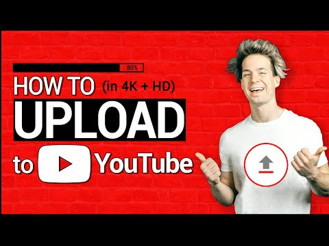 How to UPLOAD HD/4K VIDEOS on to YOUTUBE in 2021 | a Step-by-Step YouTube Video Upload Guide