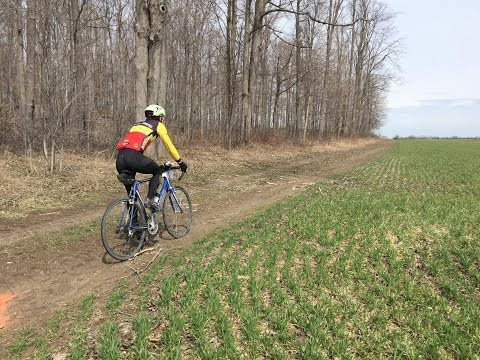 2017 Runny Nose 45 km gravel bike race - 4th place!