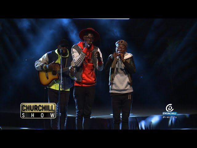 The 97 Band Performs Live on Churchill Show Machakos Edition