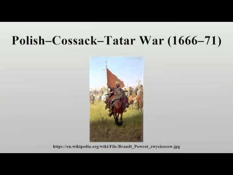 Polish–Cossack–Tatar War (1666–71)