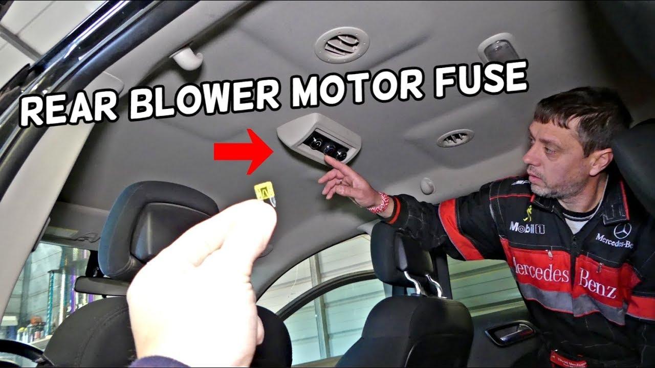 Heater Fan Not Working Dodge Caravan
