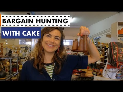 Bargain hunting with Cake!