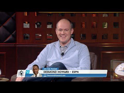 Desmond Howard Calls The RES To Talk Jim Harbaugh - 12/30/14