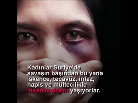 Suriye'de 6 bin 736 kadın şu an hapishanelerde sistematik işkence görüyor