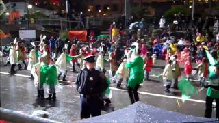 2011 San Francisco Chinese New Year Parade - Performance by CLIP (Meyerholz, Lawson, Miller)