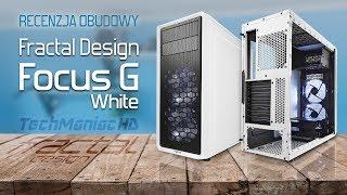 Obudowa Fractal Design za 200zł - Focus G White ❄️Recenzja skrzynki do PC