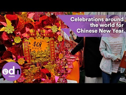 Celebrations around the world for Chinese New Year