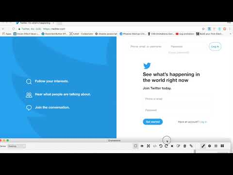 Build a template like Twitter with Gramateria
