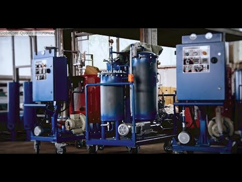 Oil Purification. High Quality GlobeCore Equipment For Filtration Of Waste Oils