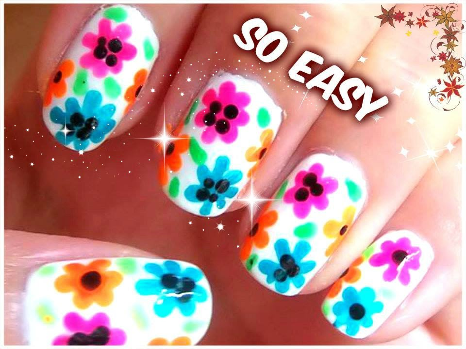 Cute Nail Art Designs For Summer New Nails Designs 2014