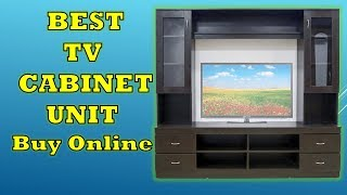 Top 4 Best TV Cabinet Unit Stand in India - Review 2019