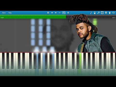 The Weeknd - Can't Feel My Face [Synthesia Animation]