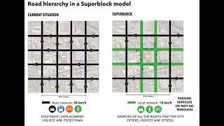 Cities Skylines - Managing Traffic with Superblocks thumbnail