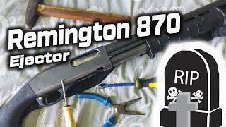 Поломка Remintgon 870 на 6000 выстрелов. Кустарный ремонт дробовика.