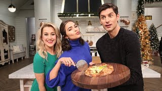 Breakfast Pizza with Olivia Culpo - Pickler & Ben