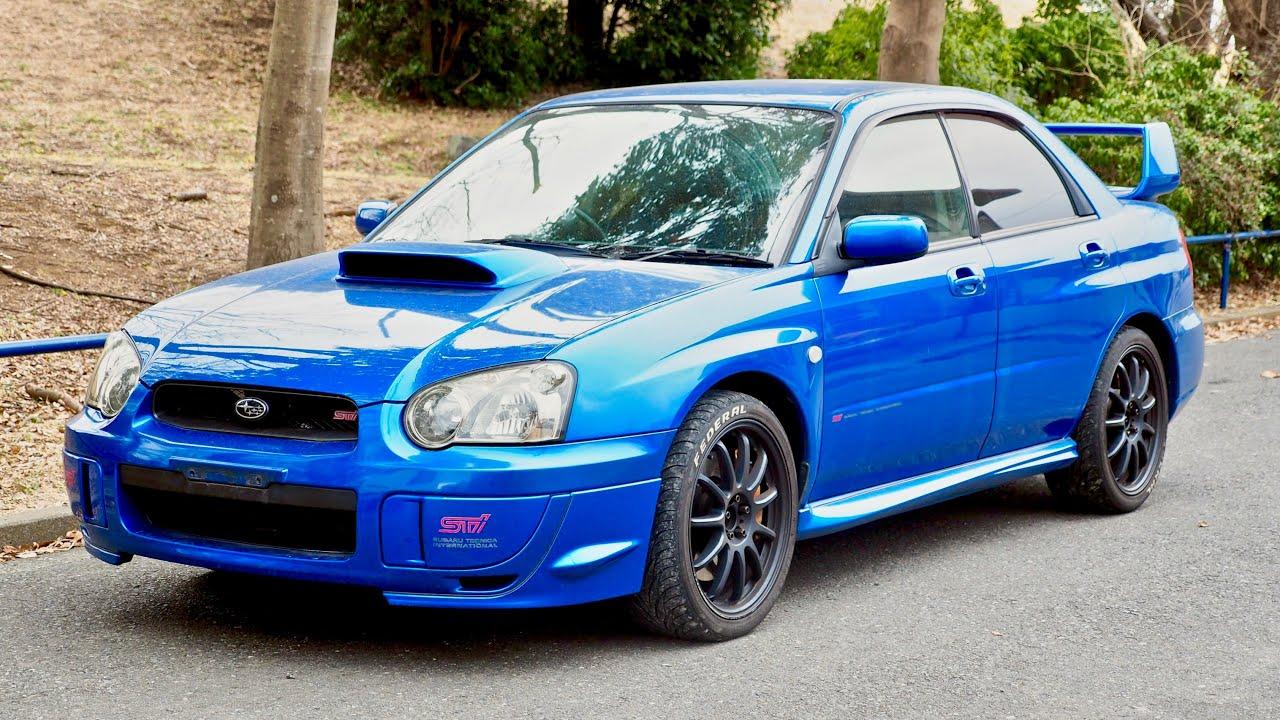 2003 Subaru Impreza WRX STi (Canada Import) Japan Auction ... |2003 Impreza Wrx Wagon Stanced