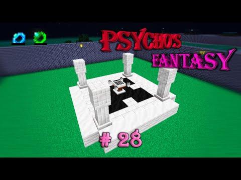 Psycho's Fantasy #28 - КОЛЬЦА МАНЫ И АСТРАЛЬНОЕ КОЛДОВСТВО - прохождение карты майнкрафт 1.12.2