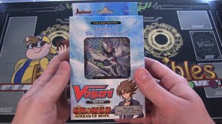 Cardfight Vanguard Trial Deck 14 Seeker of Hope Opening