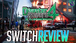 Disaster Report 4: Summer Memories Switch Review - Would You Survive? (Video Game Video Review)