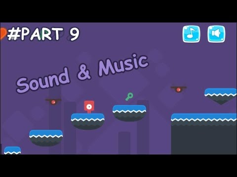 Platformer Game #9 - Sound and Music with On/Off button - Construct 2  Tutorial