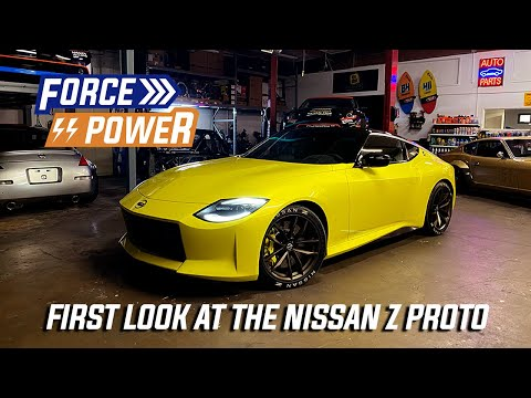 The New Nissan Z Proto at Forsberg Racing with Larry Chen!
