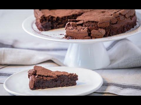 เค้กช็อกโกแลตไร้แป้ง Flourless Chocolate Cake : พลพรรคนักปรุง