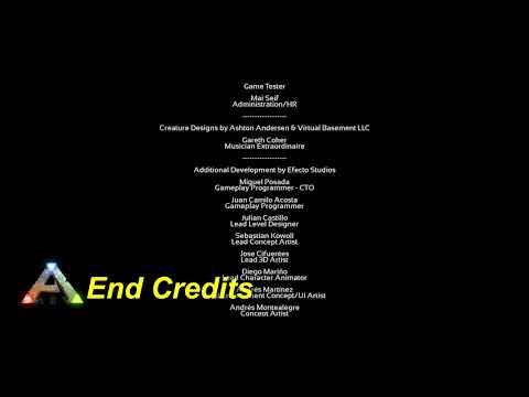 ARK Survival Evolved OST End Credits
