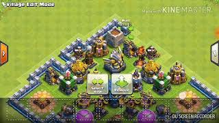 Best coc server + electro dragon+th12+all siege machines+all troops with there new levels must watch