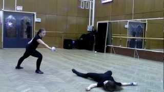 Этюд по сценическому фехтованию