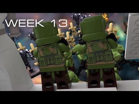 Building Kashyyyk in LEGO - Week 13: Expanding Design