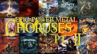 Epic Power Metal Choruses Pt. II | 40 Bands