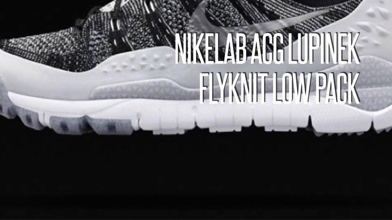 5f877949cbd NIKELAB ACG LUPINEK FLYKNIT LOW PACK  SNEAKERS STAR - YouTube
