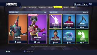 NEW DAILY ITEM SHOP! | SKIN RESET! | FORTNITE BATTLE ROYALE (17/7/2018)