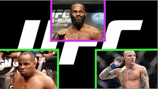 Top 10 - UFC Light Heavyweight Rankings 2019