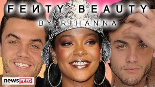 The Dolan Twins Work For Rihanna's Fenty Beauty ... For A Day!