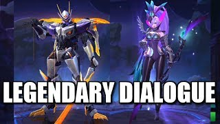 LEGENDARY SKINS ALL DIALOGUES