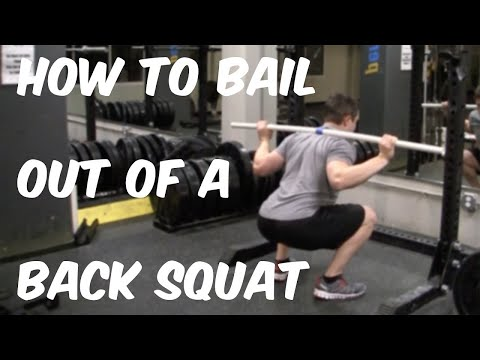 How To Bail Out Of A Back Squat | Nerd Fitness