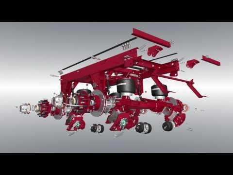 The Evolution of VANTRAAX® Sliding Air Suspension - YouTube