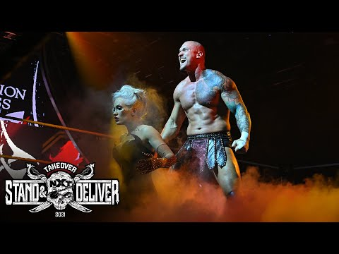 Kross & Scarlett make epic entrance: NXT TakeOver Stand & Deliver (WWE Network Exclusive)