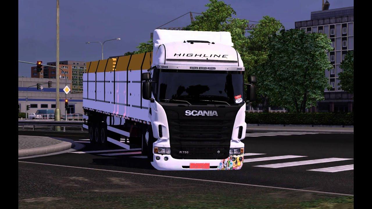 Euro Truck Simulator 2 V 1.1.1 Моды