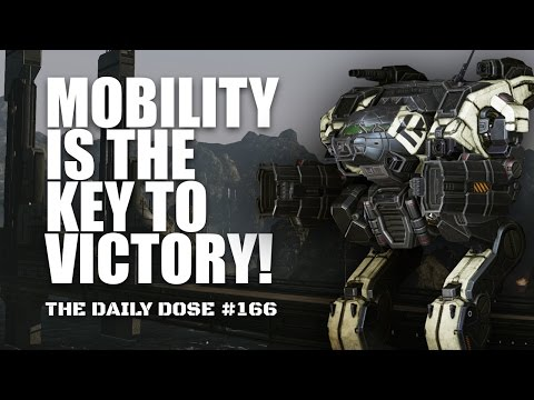 Mobility is the key to Victory - Ultra AC/10 Linebacker - Mechwarrior Online The Daily Dose #166