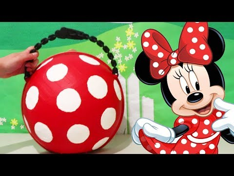 LOL Big Surprise CUSTOM Ball Minnie Mouse DIY ! Toys and Dolls Fun for Kids with Blind Bags | SWTAD