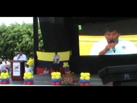 Presidente de Ecuador, Econ. Rafael Correa visita San Isidro