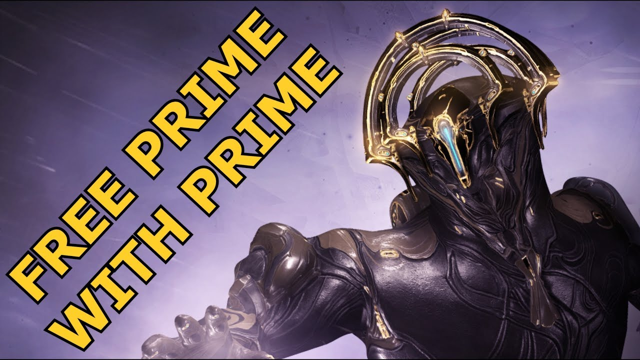 Warframe - Free (Frost) Prime With (Twitch) Prime