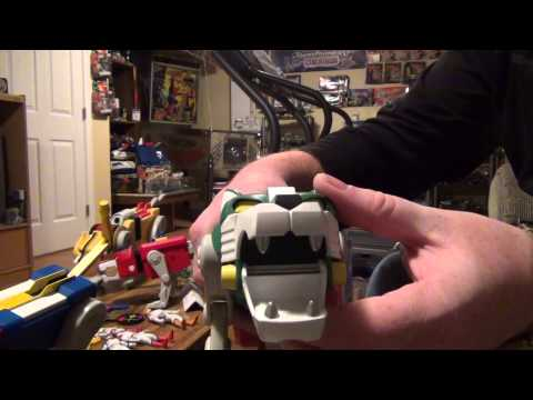 2012 Mattel Voltron Toy Review